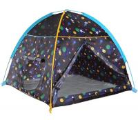 Pacific Play Tents Galaxy Dome Tent W/ Glow In The Dark Stars