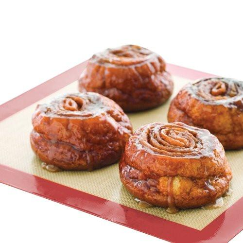 HomeStart Non-Stick Silicone Baking Mat (2 Pack)