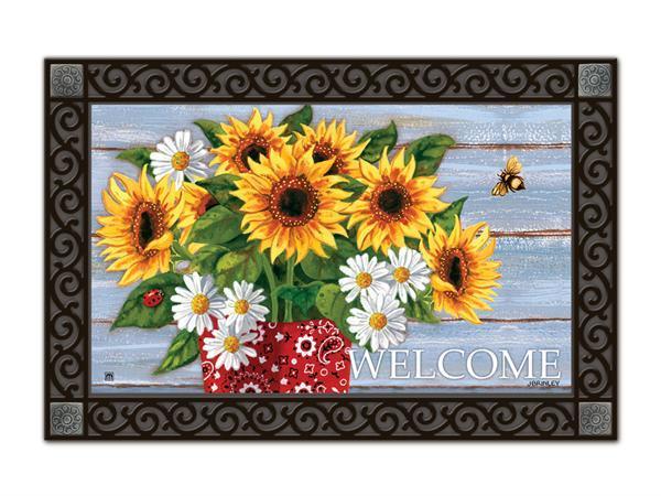 Magnet Works Bandana Sunflowers MatMate