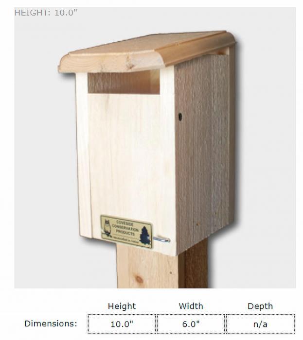 Coveside Sparrow Resistant Bluebird House