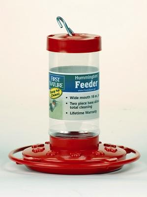 First Nature Hummingbird Bird Feeder