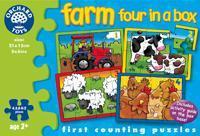 The Original Toy Company Farm Four in a Box  Puzzle