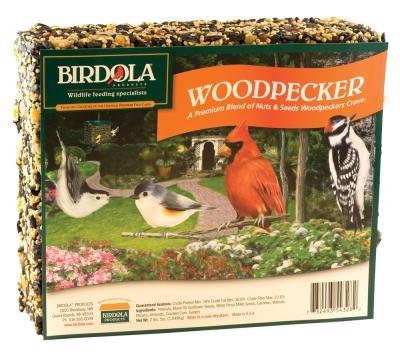 Birdola Seed Cake Woodpecker , Large