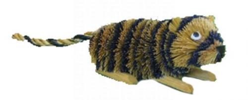Brushart Tiger Rattan Legs Ornament