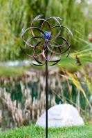 Echo Valley Illuminaire Leaf Dual-Motion Windwheel