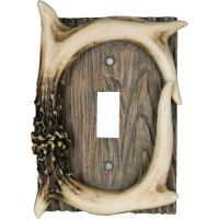 Rivers Edge Products Deer Antler Single Switch Cover