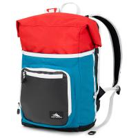 High Sierra Tethur Backpack Sea/Crimson/Black/White