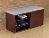 Merry Products Windsor Shoe Bench