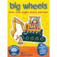 The Orginal Toy Company Big Wheels Puzzle