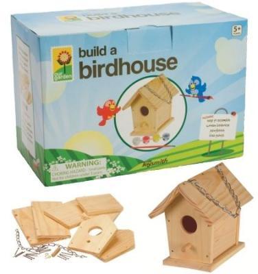 Toysmith Paint-A-Bird House