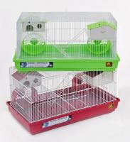 Hamster Dplx Cage 23x12 4/cs