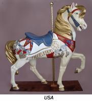 Royal Stander USA Carousel Horse