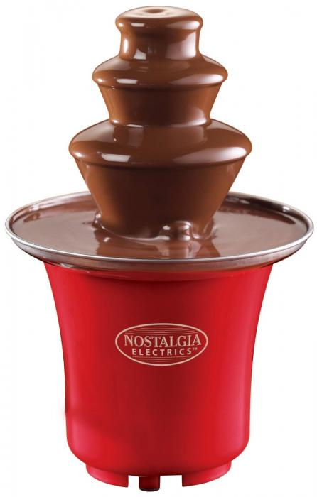 how to clean nostalgia chocolate fountain