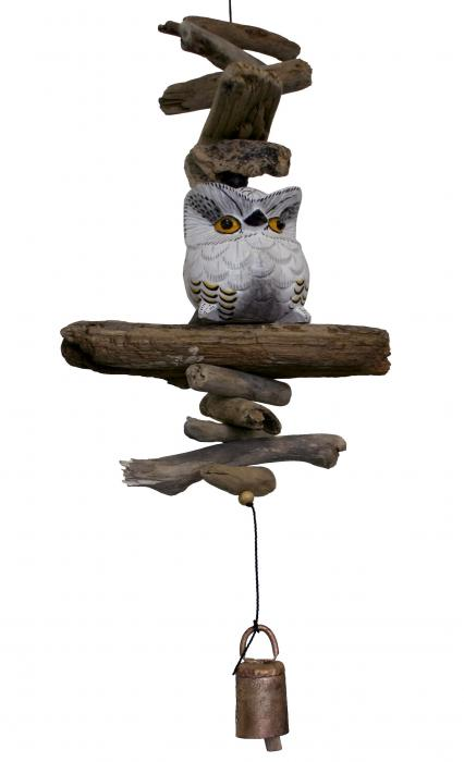 Cohasset Imports Petite Snow Owl Bell