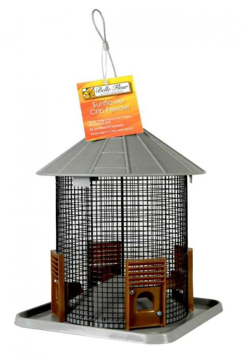 Hiatt Manufacturing Sunflower Crib Bird Feeder