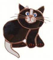 Gift Essentials Black Cat Suncatcher