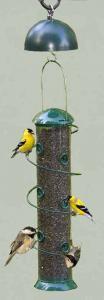 """Songbird Essentials Super Spiral 18"""" Sunflower Bird Feeder/Twirl A Squirrel Combo"""