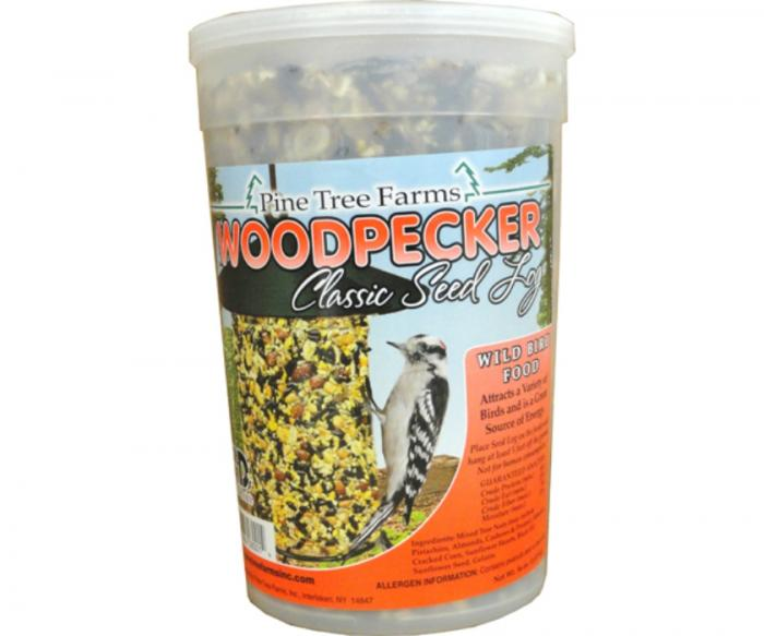 Pine Tree Farms Woodpecker Seed Log 40 oz.