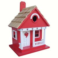 Home Bazaar Lobster Cottage Red