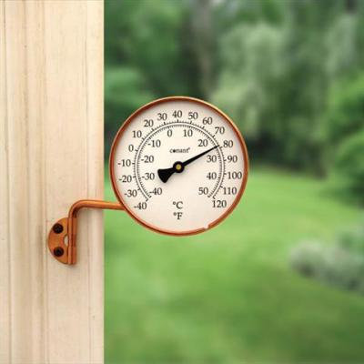 Conant Custom Brass Vermont Dial Thermometer Living Finish Copper