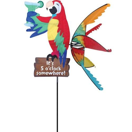 Premier Designs Fade-Resistant SolarMax Fabric Island Parrot yard Sign