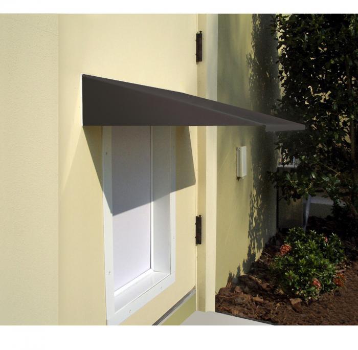PlexiDor Large / XLarge Pet Door Awning, Bronze