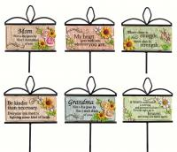 Evergreen Enterprises Wishgivers Simple Blessings Garden Stake 6 Piece Assortment