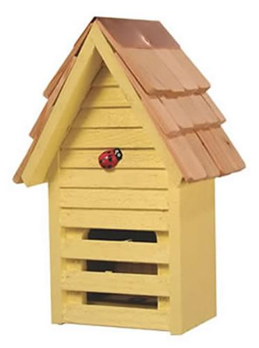 Heartwood Lady Bug Loft, Yellow