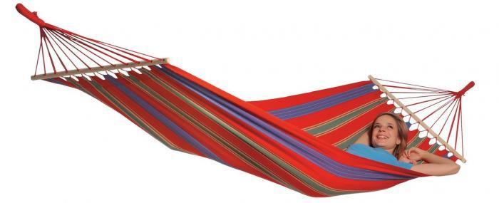 Byer of Maine Aruba Hybrid Hammock XL, Cayenne Red
