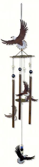 "Sunset Vista Designs Wilderness Wonders 28"" Eagle Chime"
