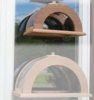 "Coveside Small 13"" Wide Arched Window Bird Feeder"