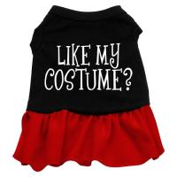 Like My Costume? Dog Dress - Red XS
