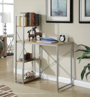 Convenience Concepts  Office Work Station (Light Oak)