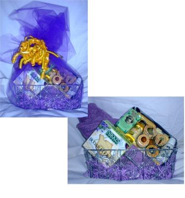 Basic Gift Basket for Women/Girls - Body Wrap