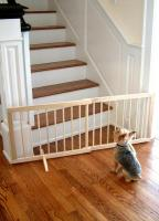 Cardinal Medium Oak Step Over Gate SG-1-MO