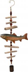Songbird Essentials Trout Driftwood Sculpture