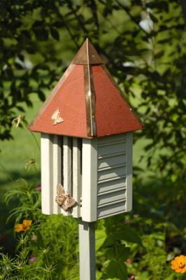 Heartwood Flutterbye Butterfly House, Smoke Grey