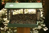 Songbird Essentials Large Double Hopper-Hunter Driftwood