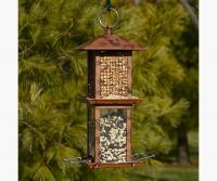 Woodlink Audubon Series Double Tower Metal Seed Bird Feeder