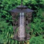 "12"" Chickadee Silhouette Feeder - French Bronze"