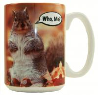 "Songbird Essentials Mug 15oz ""Who Me?"""