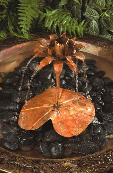 Ancient Graffiti Copper Dripper/Fountain Lotus