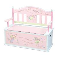 Levels of Discovery Fairy Wishes Bench Seat with Storage