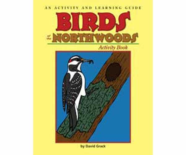 Adventure Publications Birds of the Northwoods Activity Book