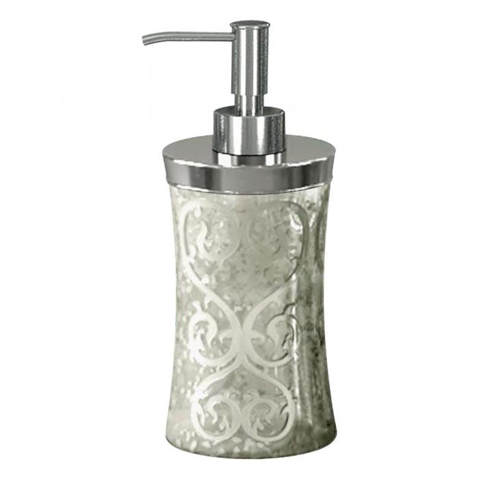 Nu Steel Mercury Glass Soap/Lotion Pump