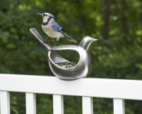 Good Directions Enchanted Silver Bird Feeder
