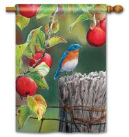 Magnet Works Orchard Bluebird Standard Flag