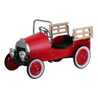 Dexton Red Retro Pickup Truck Pedal Car, DX-20046