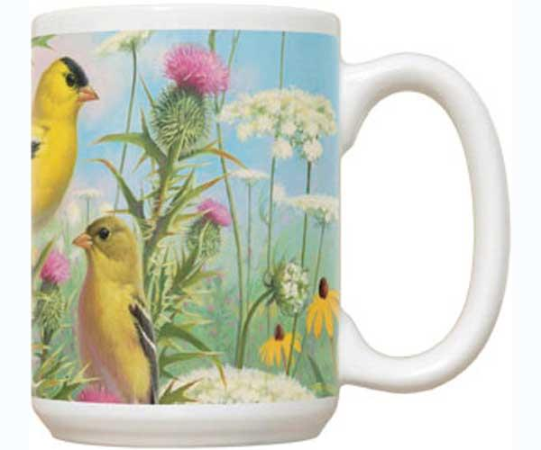 Fiddler's Elbow Goldfinches Mouse Pad