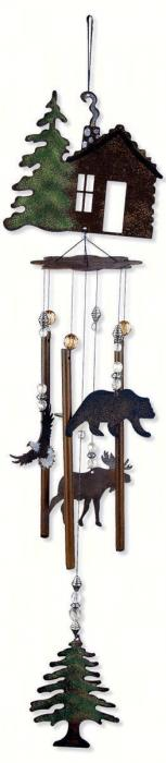 "Sunset Vista Designs Wilderness Wonders 28"" Cabin Fever Chime"